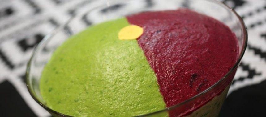Salada do Mundial, com as cores da bandeira portuguesa