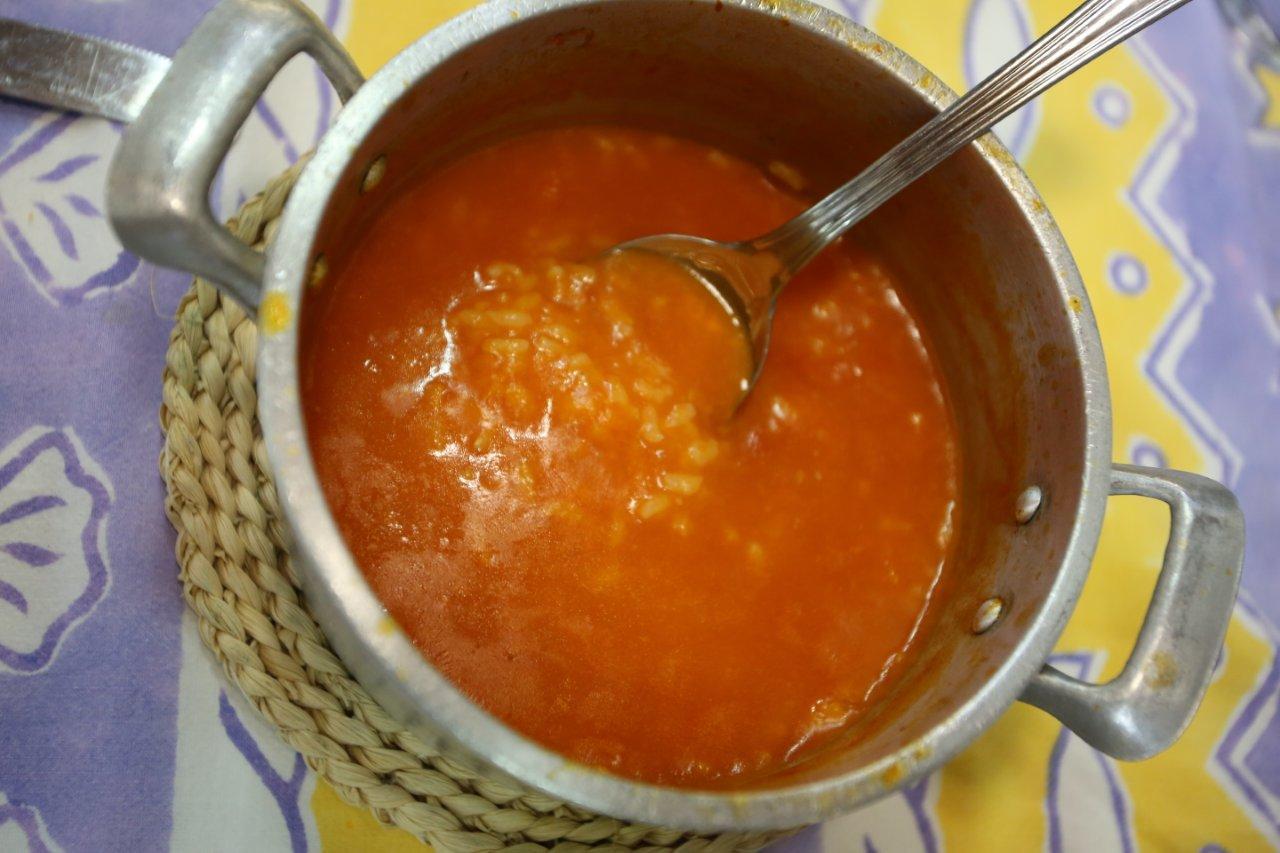 Arroz de tomate