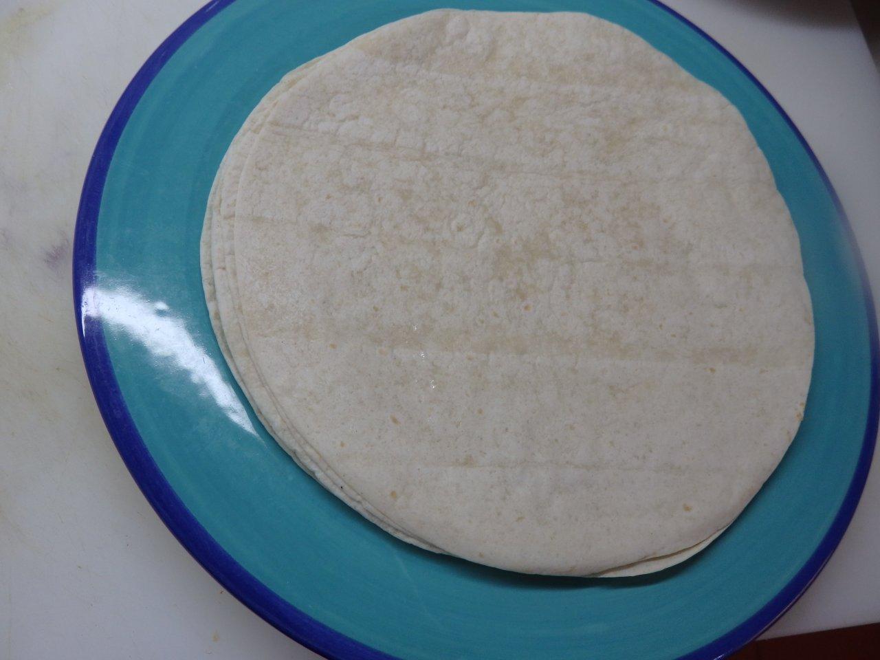 Tortilhas com Manteiga e Orégãos