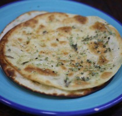 tortilhas com manteiga e orégãos - Tortilhas com Manteiga e Orégãos