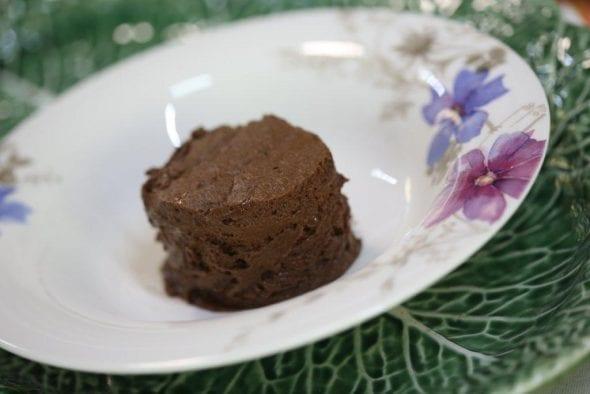 Mousse de Chocolate Temperada com Azeite e Sal