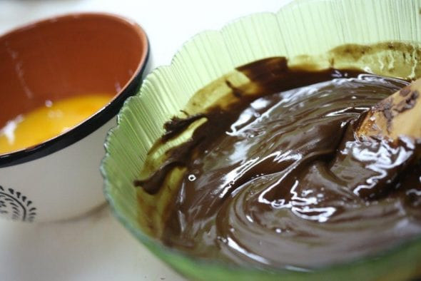 Mousse de Chocolate Temperada com Azeite e Sal