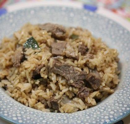 arroz de pica-pau - Arroz de Pica-Pau