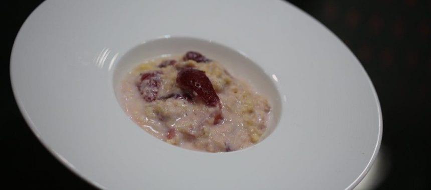 Sopa Doce de Morangos