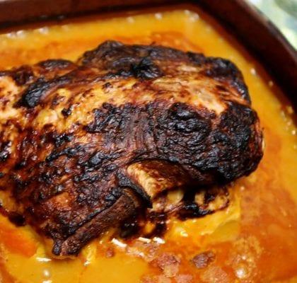 carne assada à pressão com coentros Carne Assada à pressão com Coentros Carne Assada pressao com Coentros fb 420x400