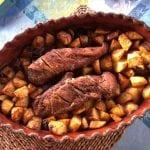 Lombinhos assados no forno com Batata a acompanhar lombinhos assados no forno com batata a acompanhar (para 6 pessoas) - Lombinhos assados no forno com Batata a acompanhar