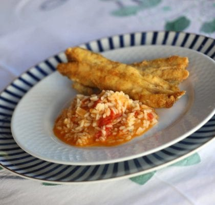 arroz de peixe galo - Arroz de Peixe Galo