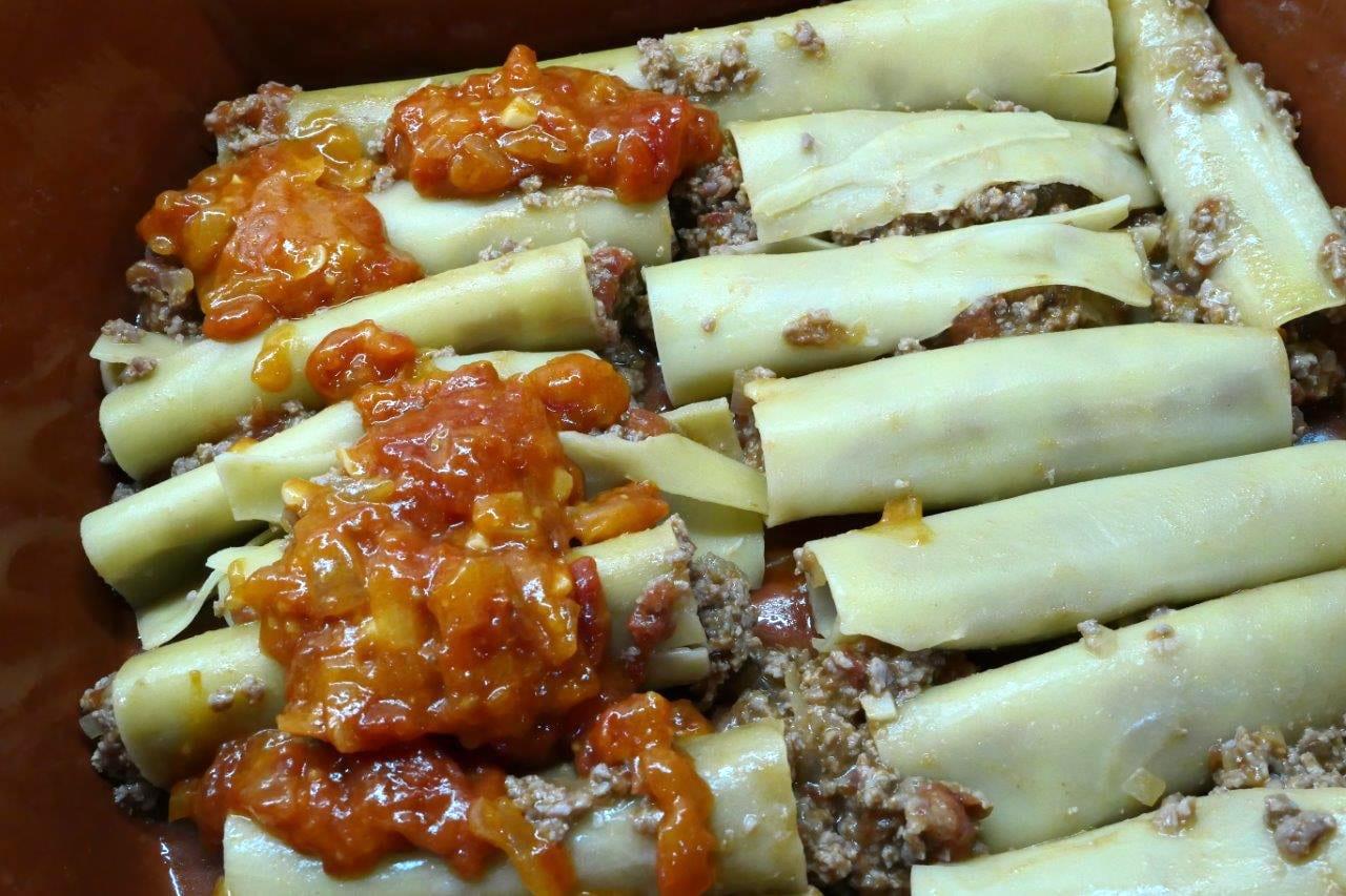 Canelones recheados com Carne picada  Canelones recheados com Carne picada Canelones recheados com Carne picada 5 1