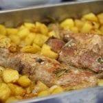 Lombinhos Assados no forno com Colorau