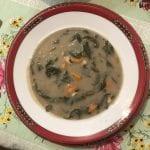 Sopa de Feijão Frade leve