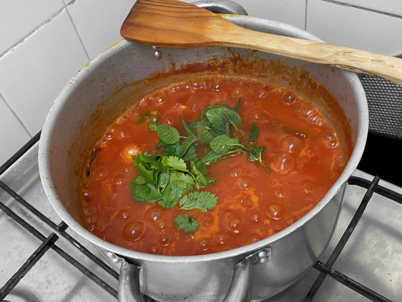 Arroz de tomate cremoso Arroz de tomate cremoso 4