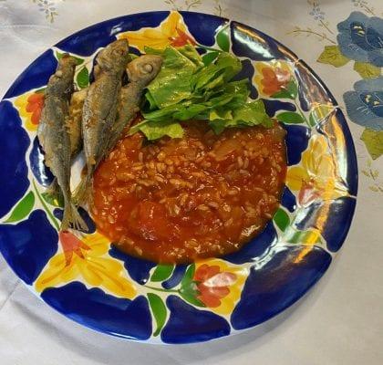 arroz de tomate cremoso - Arroz de tomate cremoso