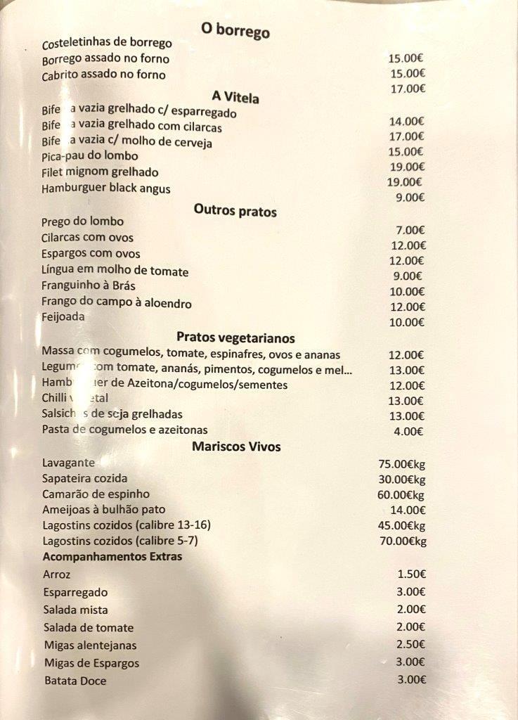 Um jantar no Restaurante Aloendro em Reguengos de Monsaraz Aloendro 4