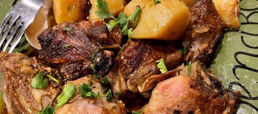 Um jantar no Restaurante Aloendro em Reguengos de Monsaraz