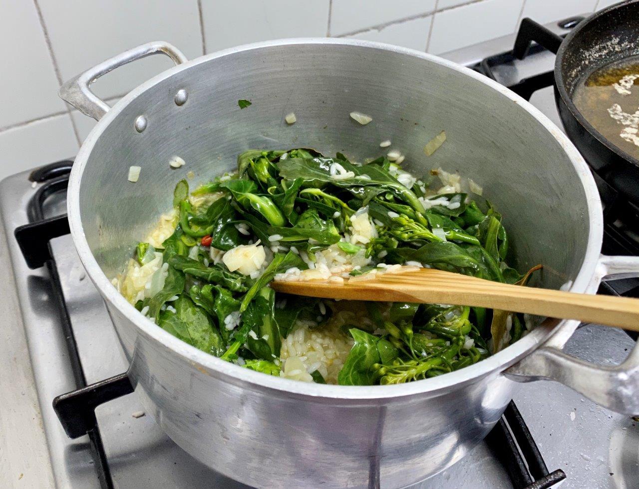arroz de grelos - Arroz de grelos