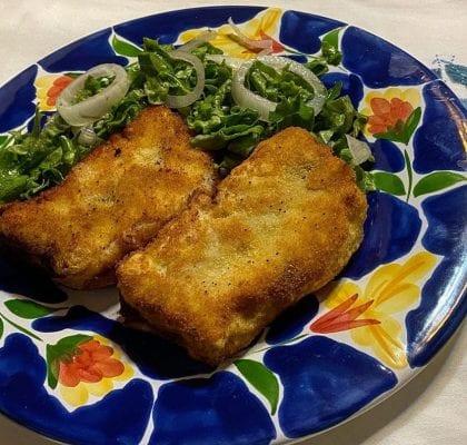 empadão frito com salada - Empadão frito