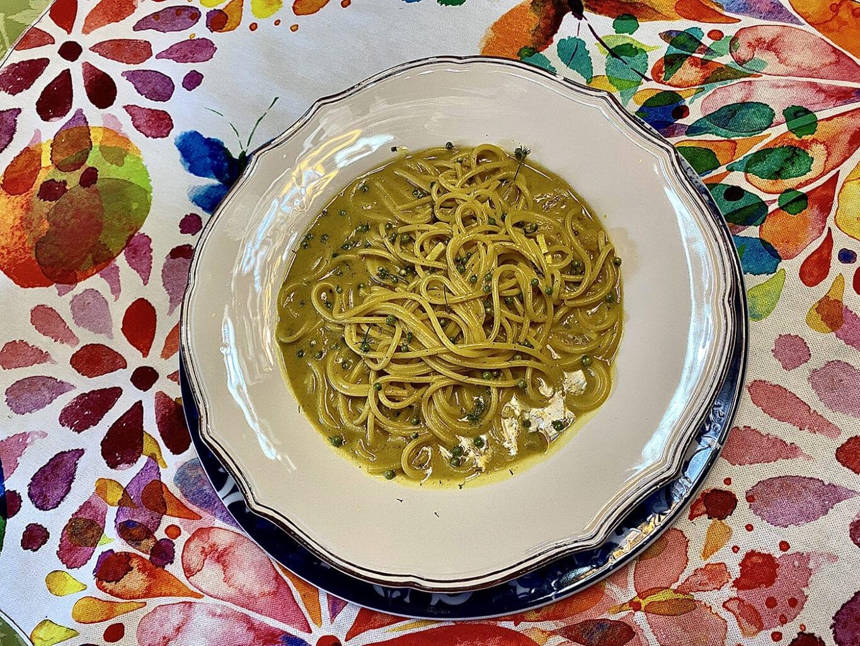 esparguete de caril / curry spaghetti - Esparguete de caril / Curry spaghetti