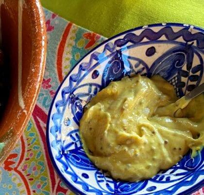 molho de mostarda - Molho de mostarda